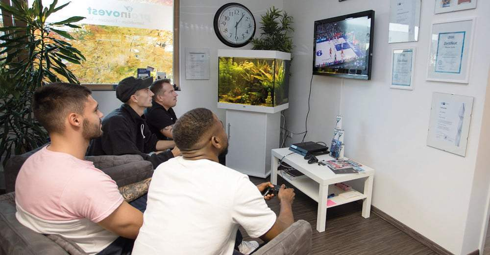 Basketballer testen NBA 2K20