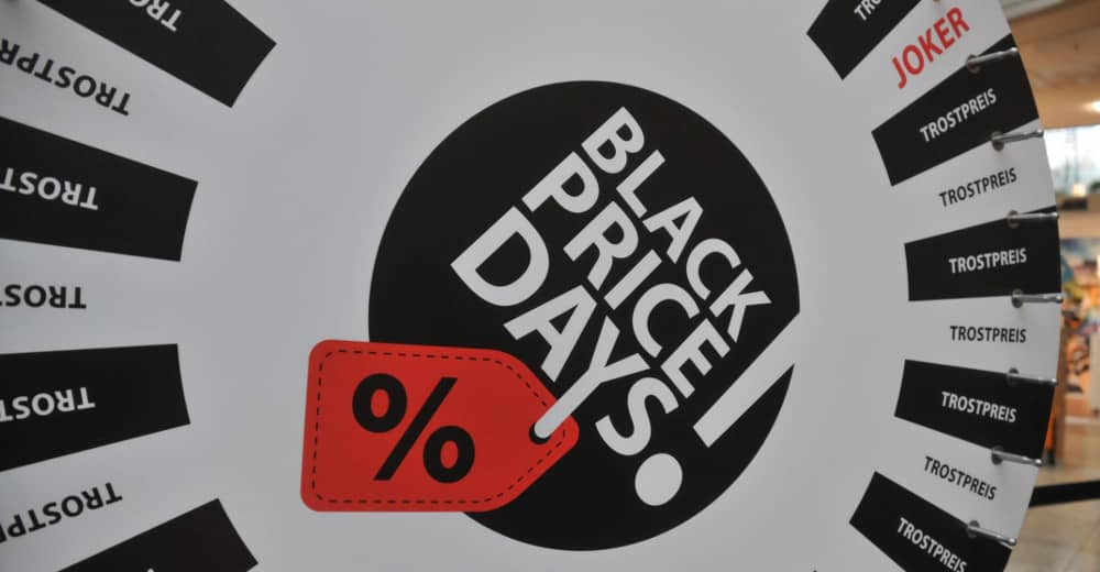 Black Price Days City Galerie Augsburg