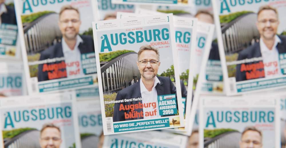 Augsburg Journal Mai 2021 Mockup